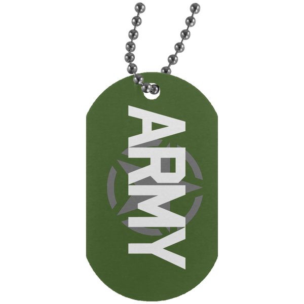 Army Dog Tags - Warrior Code
