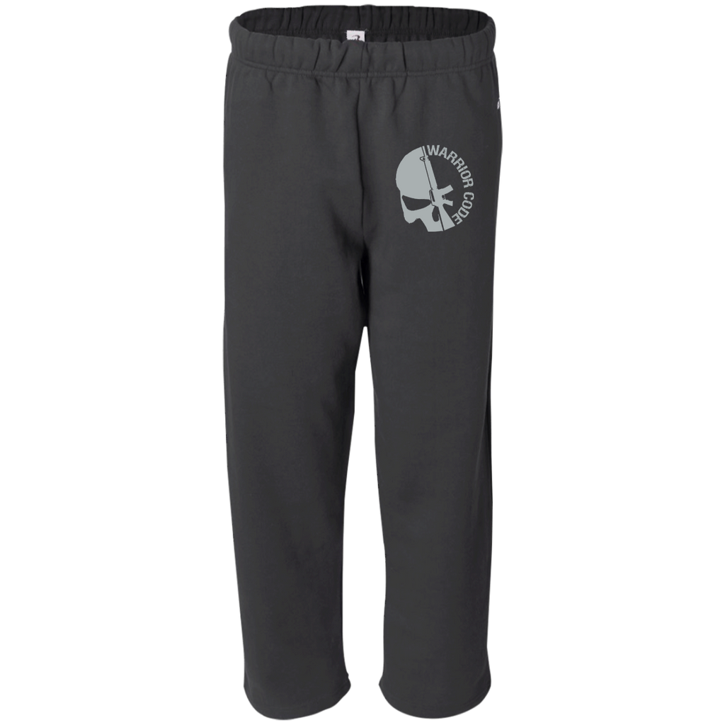 Skull & Gun Embroidered Sweat Pant with Pockets