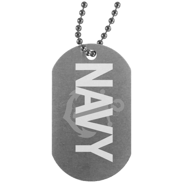 Navy Dog Tags - Warrior Code