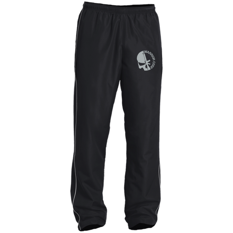 Skull & Gun Embroidered Performance Wind Pant - Warrior Code