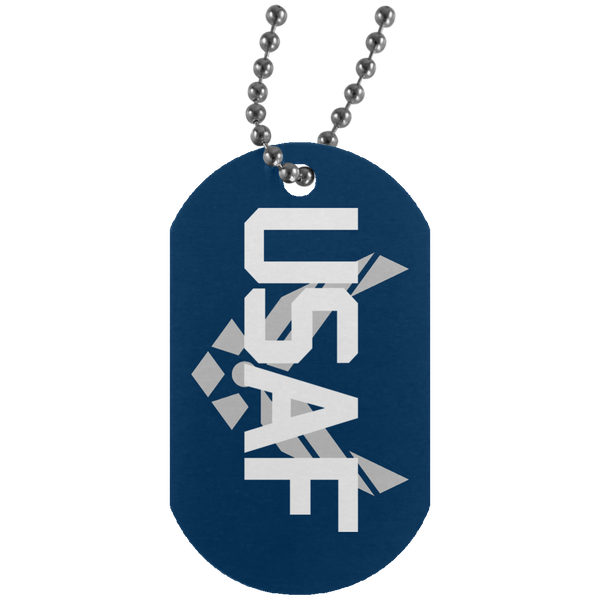 Air Force Dog Tags - Warrior Code