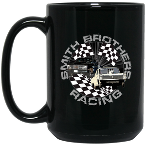Smith Brothers Racing 15 oz. Black Mug - Warrior Code