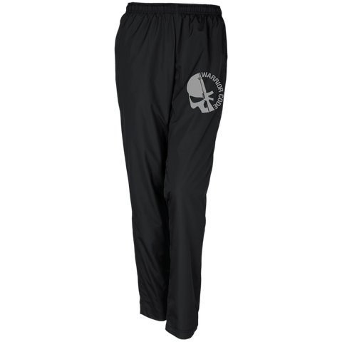Skull & Gun Ladies' Warm-Up Track Pant - Warrior Code