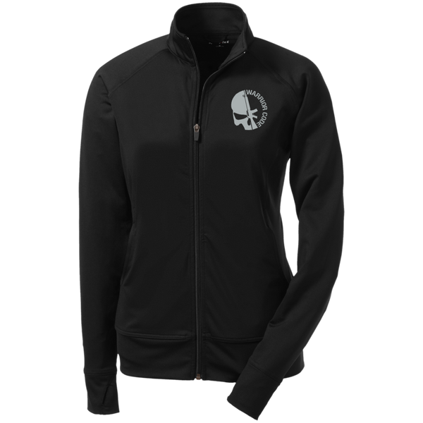 Skull & Gun Ladies' Athletic Stretch Full Zip Jacket