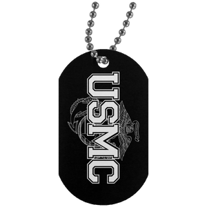 USMC Dog Tags - Warrior Code