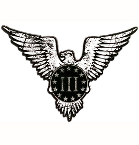 Three Percent Eagle Decal - Warrior Code