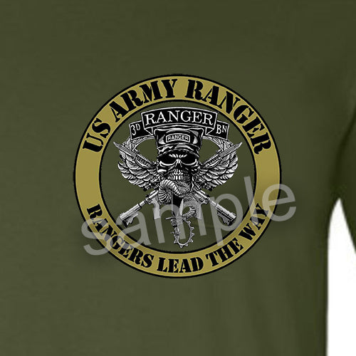 Army Rangers T Shirt Warrior Code