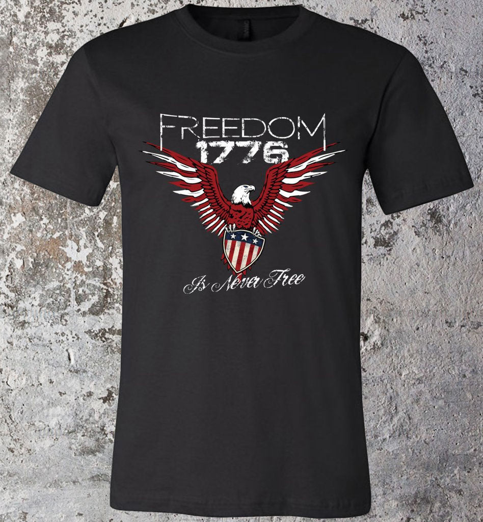Freedom Is Never Free - Warrior Code