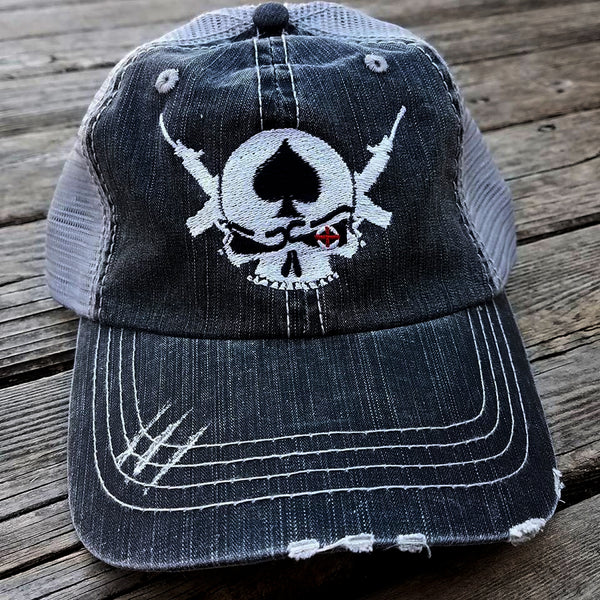 Shooter Distressed Trucker Cap