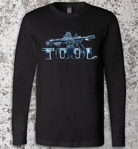 Tool Gun Long Sleeve - Warrior Code