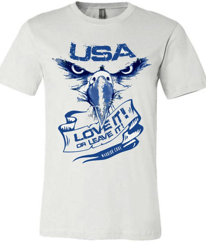 USA Love it or Leave it! - Warrior Code