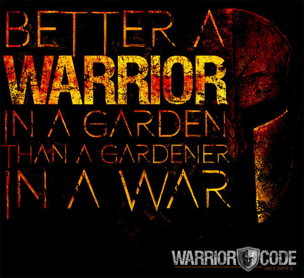 Warrior In A Garden Ladies - Warrior Code