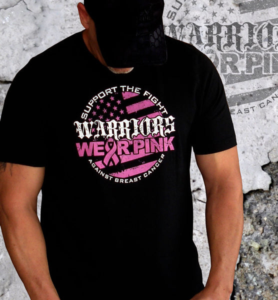 Warriors Wear Pink Breast Cancer Awareness Tshirt - Warrior Code