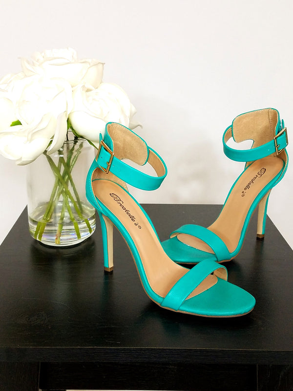 Under The Sea Ankle Strap Heel