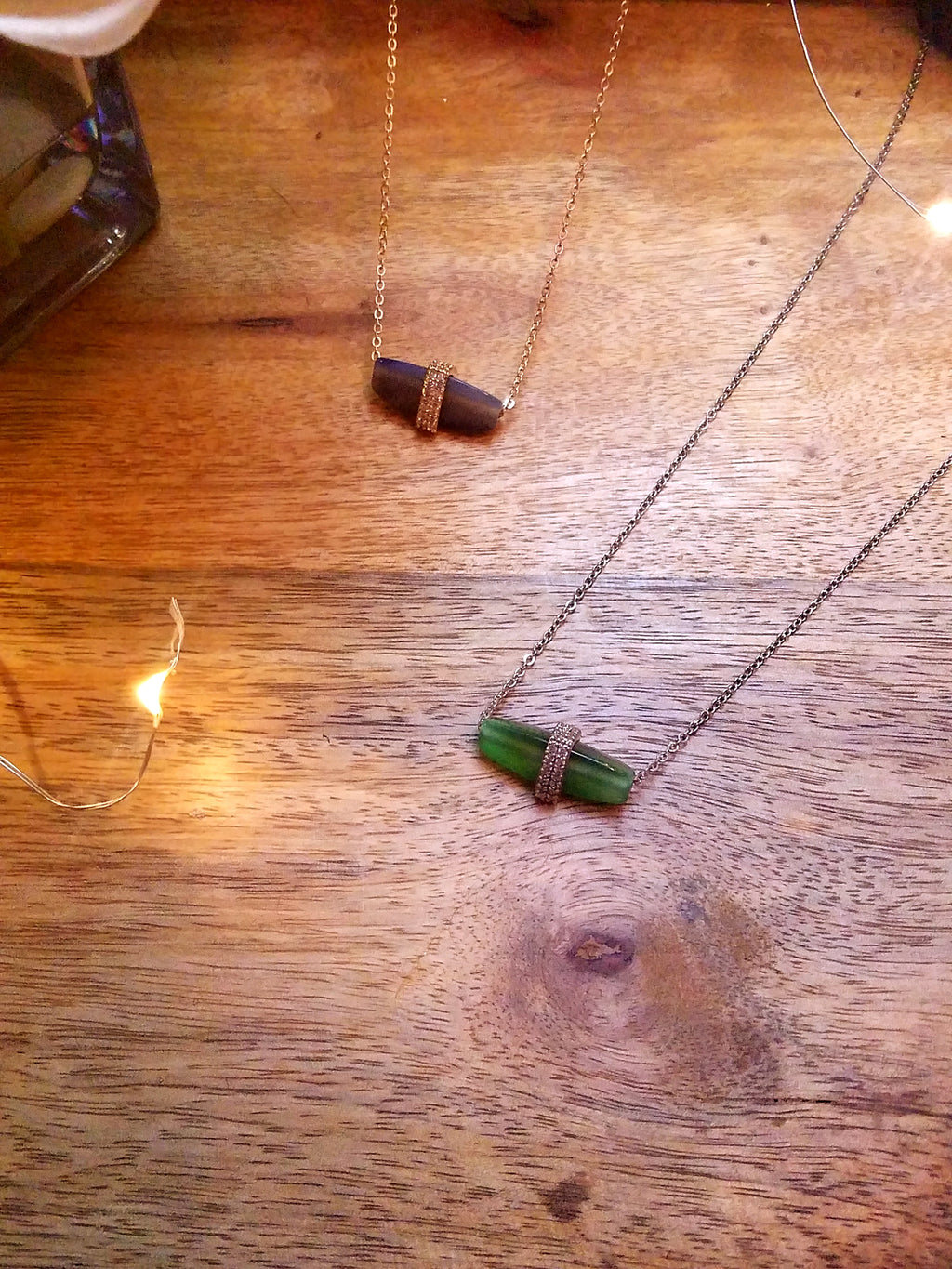 Gem Pendant Necklace