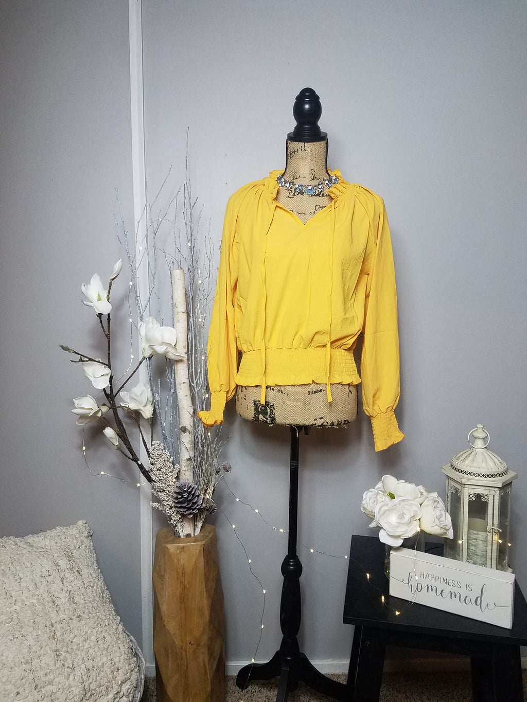 Betty Mustard Top