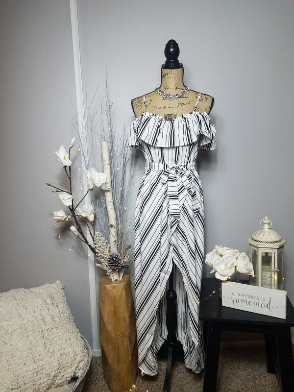 Carla Striped Maxi Dress