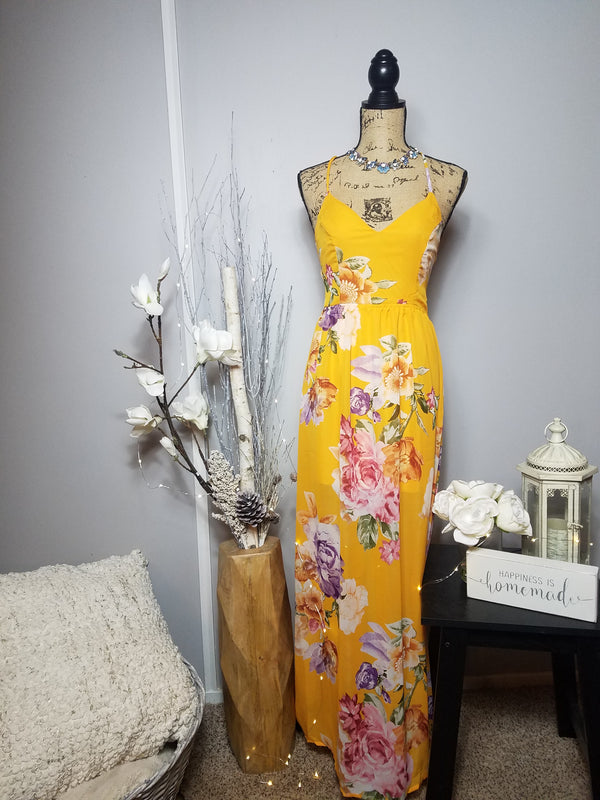 Brooklyn Floral Maxi Dress