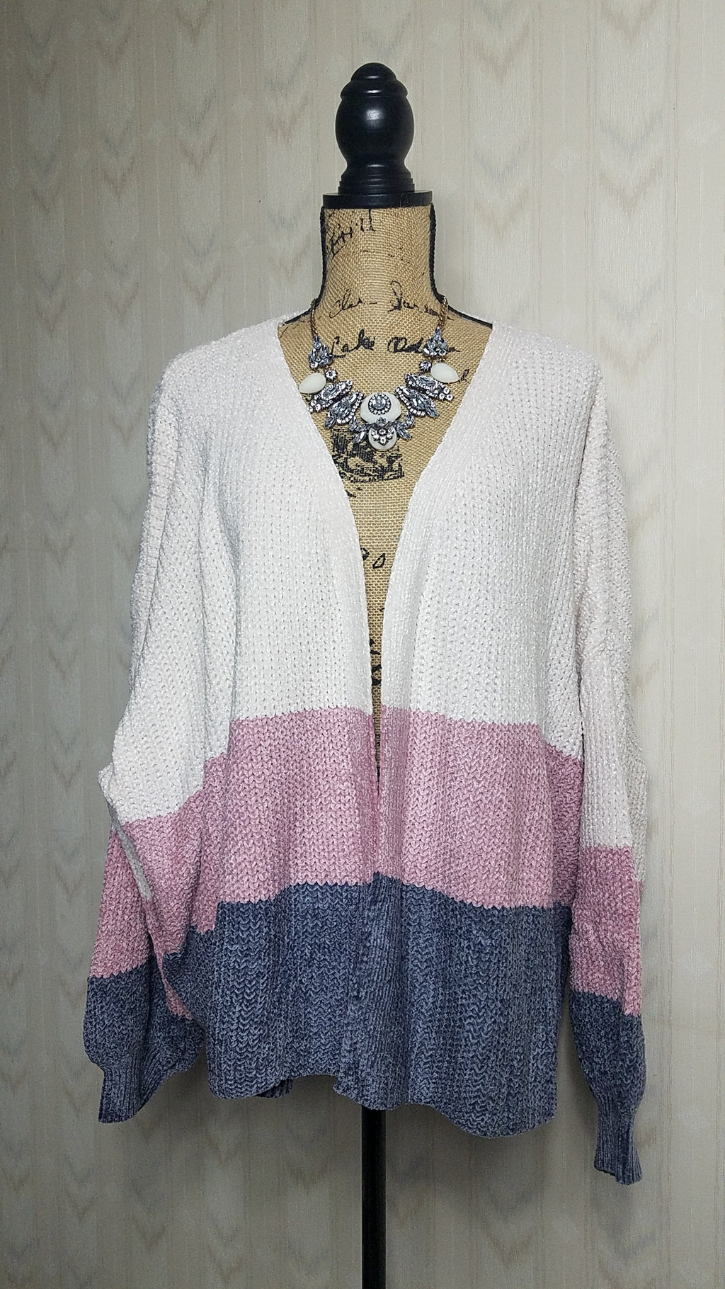 Candy Color Block Cardigan