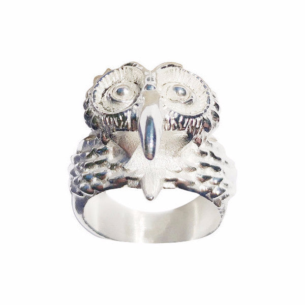 Cali Silver Owl Ring