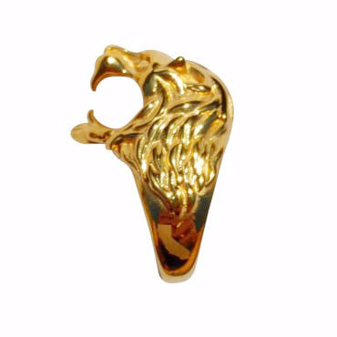 Cali 18k Gold Lion Ring