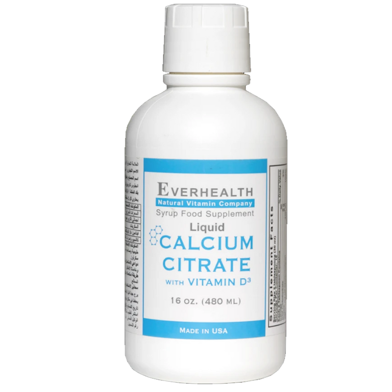 Calcium Citrate - Everhealth Natural Vitamins