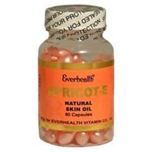 Apricot E Skin Oil - Everhealth Natural Vitamins