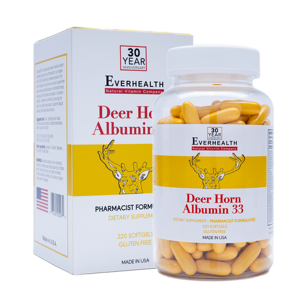 Deerhorn Albumin 33 - Everhealth Natural Vitamins