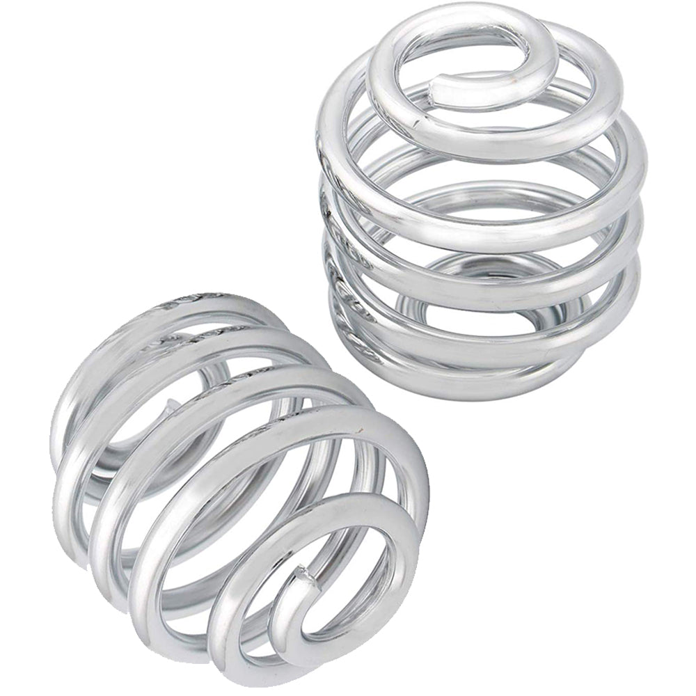 "2"" Chrome Barrel Springs (1 Pair)"