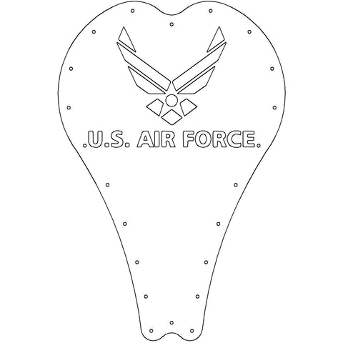 Art series Leather AIRFORCE #3 Solo Seat