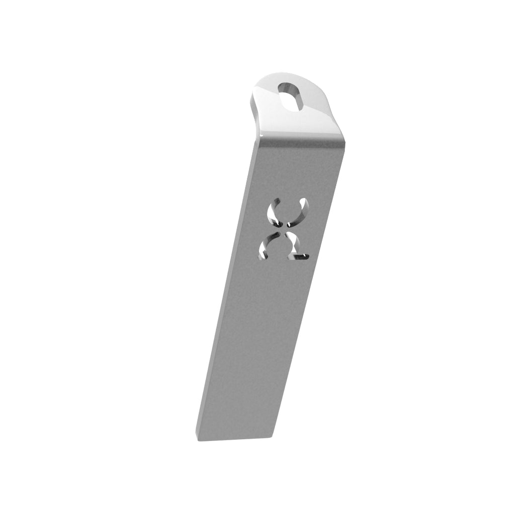 Weld-On Lower Flat Fenders Bracket Raw Steel