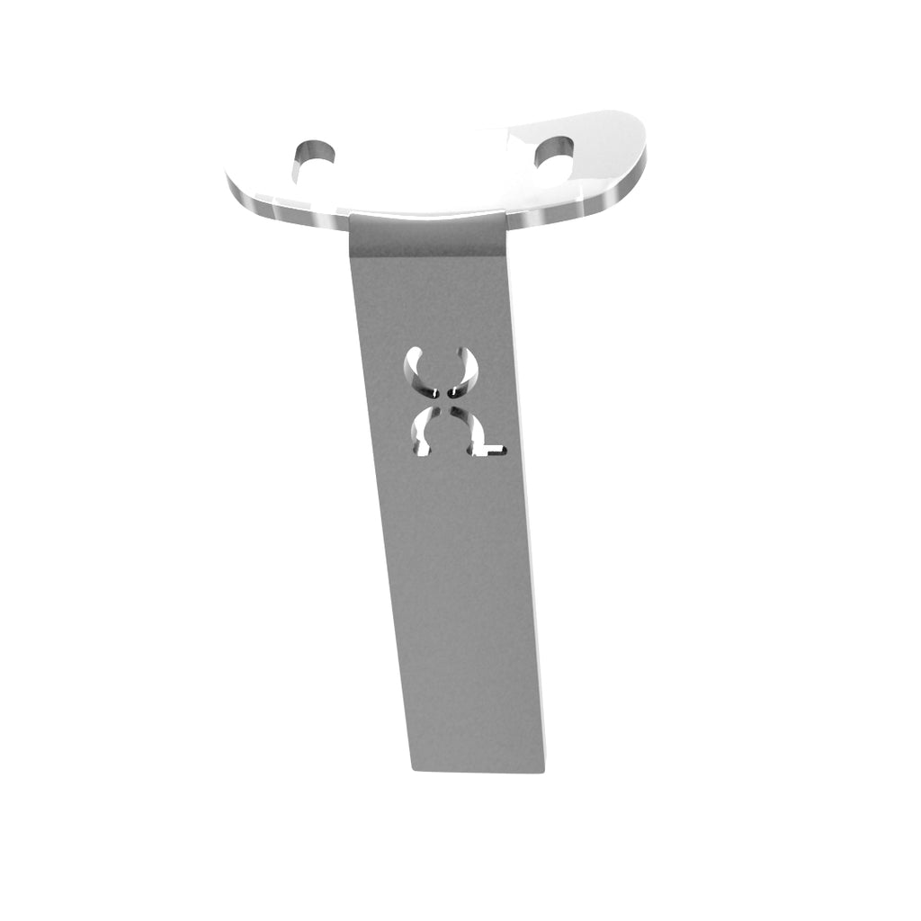 Weld-On Curved Fender Bracket Raw Steel
