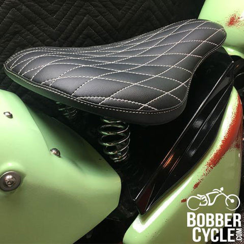 Honda Shadow VLX600 Leather Bobber Seat Conversion Kit