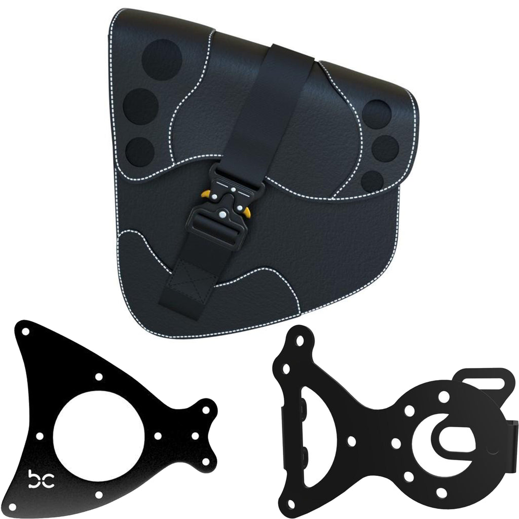 Honda Shadow VT750 (Shaft) SaddleBag Kit (SaddleBag + Left Bike Bracket + SaddleBag Bracket)