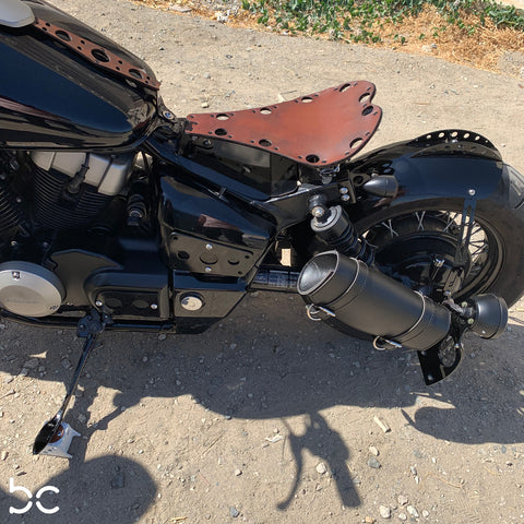 Honda Shadow VT750 (Shaft) Curved Fender Bracket