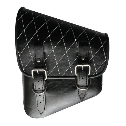 Classic DIAMOND Vinyl SaddleBag
