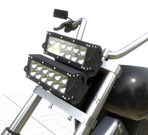 MultiFit LED Light Bar Bracket