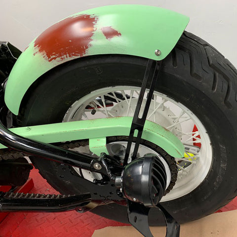 "7"" Smooth STEEL Rear Fender"