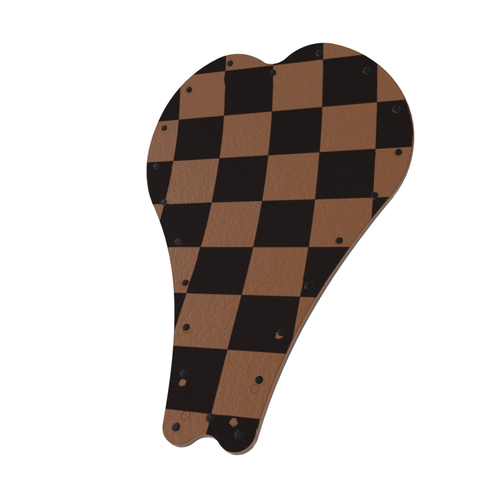Art series Leather CHECKER Solo Seat