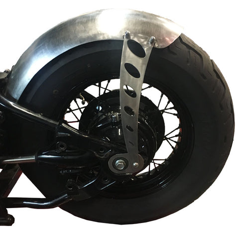 Yamaha V-Star Dragstar XVS650 Rear Fender Oval Strut, Bracket Kit