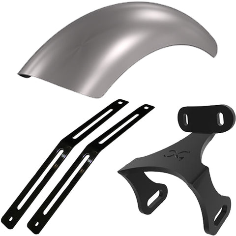Honda Shadow VLX600 Rear Fender Strut Kit + Fender + Fender Bracket