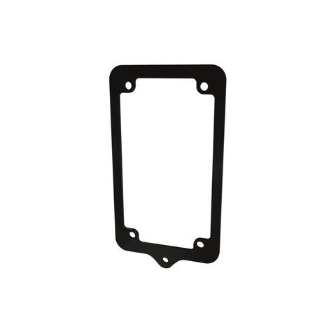 License plate Frame with Guardian Bell Hanger