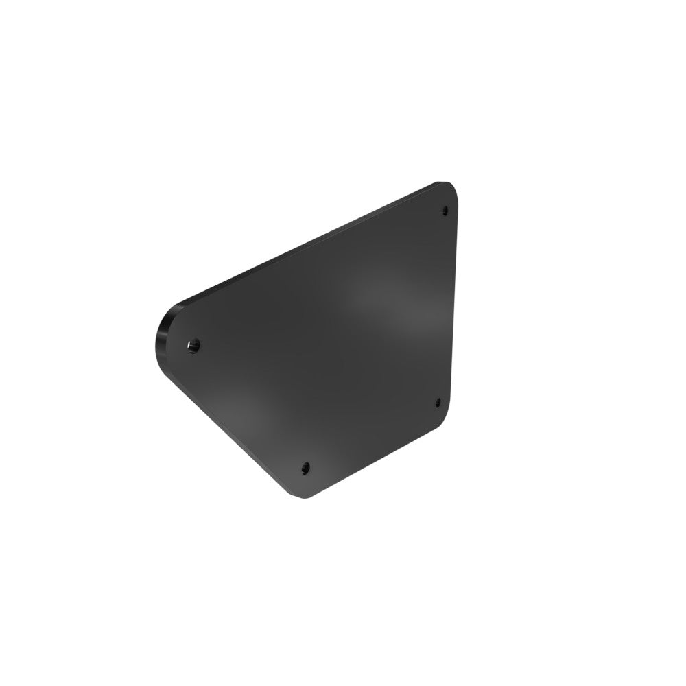 Honda Rebel CMX250 Left Side Cover Blank (Powder Coated)