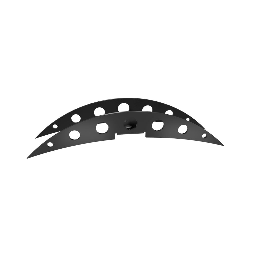 Multi-Fit Fender Accent HOLES (Powder coated)