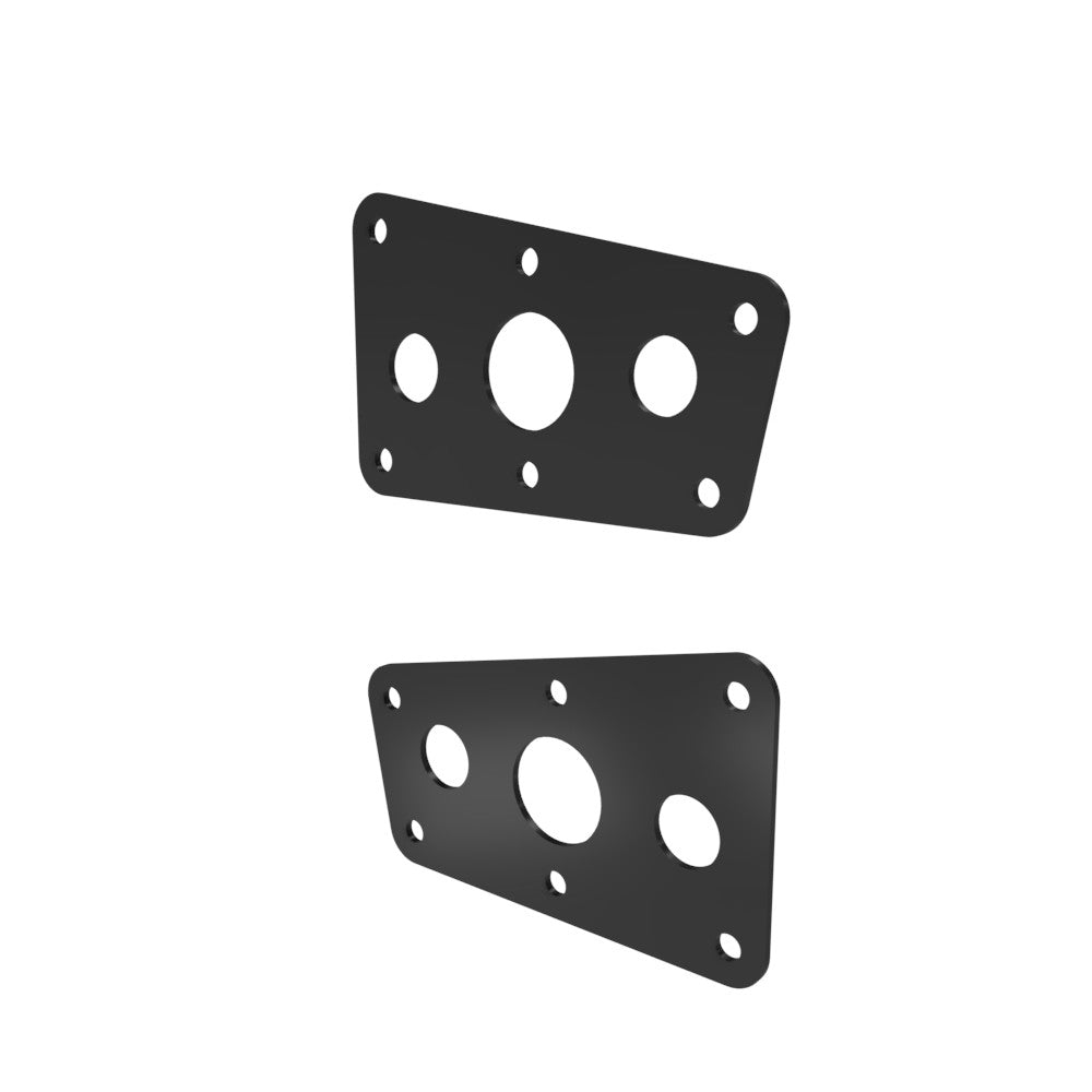 Honda Shadow VT750 (Shaft) Side Covers (Left &Right) Powder Coated