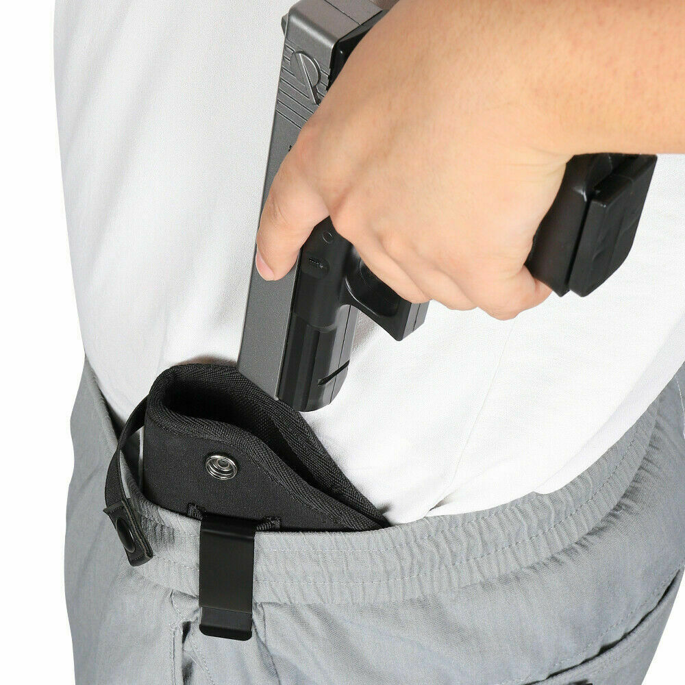Gun Holster for SaddleBag Molle Mount