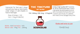 THC Tincture 260mg THC (15ml) - MCT Oil