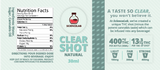 Clear Shot - NATURAL - 400mgTHC