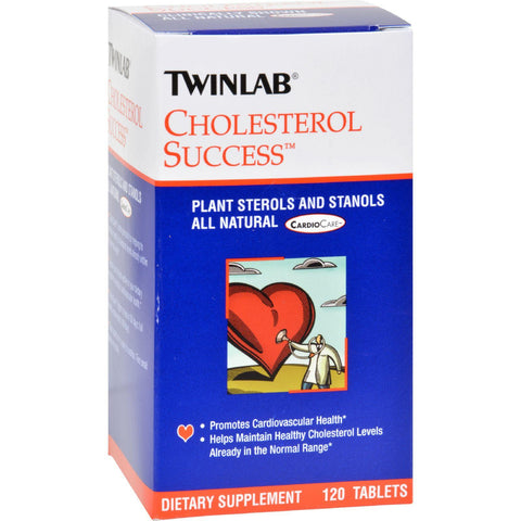 Twinlab Cholesterol Success - 120 Tablets