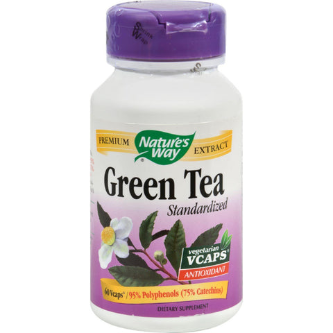 Nature's Way Green Tea Standardized - 60 Vcaps
